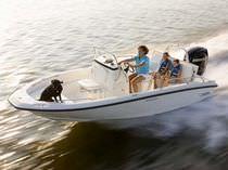 Outboard center console boat / center console / sport-fishing / 8-person max.