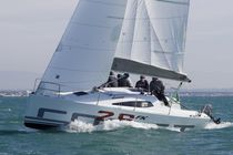 Monohull / cruising-racing / open transom / lifting keel