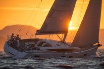Cruising sailing yacht / open transom / deck saloon / 6-cabin