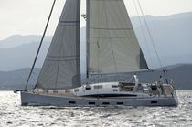 Cruising sailing yacht / deck saloon / 6-cabin / with bowsprit