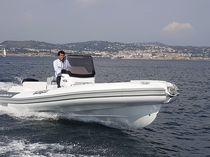Outboard inflatable boat / semi-rigid / center console / 14-person max.