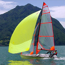 Double-handed sailing dinghy / regatta / skiff / asymmetric spinnaker