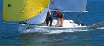 Double-handed sailing dinghy / regatta / recreational / asymmetric spinnaker