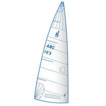 Mainsail / for one-design sport keelboats / J22