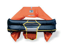 Boat liferaft / offshore / ISO 9650-1 / throw-overboard