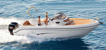 Twin-engine walkaround / outboard / 12-person max. / sundeck