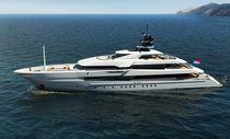 Cruising mega-yacht / raised pilothouse / steel / 6-cabin
