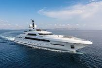 Cruising mega-yacht / wheelhouse / aluminum / 6-cabin