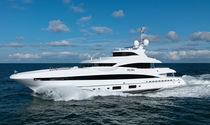 Cruising mega-yacht / raised pilothouse / steel / 5-cabin