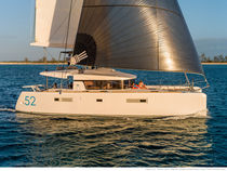 Catamaran / cruising / open transom