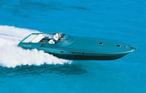 High-speed motor yacht / open / planing hull / with 2 or 3 cabins
