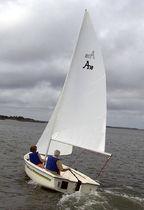 Day-sailer / open transom