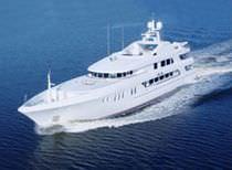 Cruising mega-yacht / raised pilothouse / steel / custom