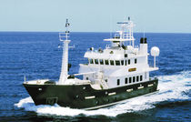 Explorer motor-yacht / raised pilothouse / cruising / aluminum