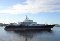 Wheelhouse mega-yacht / cruising / steel / custom