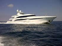 Cruising mega-yacht / wheelhouse / aluminum / custom