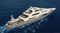 Explorer mega-yacht / displacement hull / 6-cabin / 5-cabin
