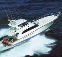 Flybridge motor-yacht / sport-fishing / displacement / custom