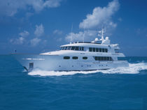 Wheelhouse super-yacht / cruising / semi-displacement hull / 8-cabin