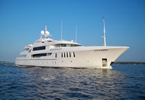 Wheelhouse mega-yacht / high-speed / steel / custom