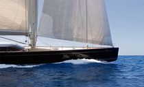Cruising sailing super-yacht / open transom
