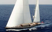 Cruising sailing yacht / open / ketch