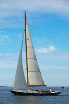 Classic sailboat / open transom / lifting keel