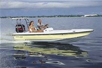 Outboard flat boat / center console / sport-fishing