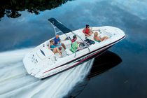 Inboard deck boat / wakeboard / ski / 12-person max.