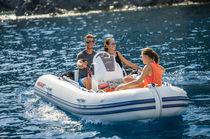 Outboard inflatable boat / semi-rigid / 7-person max.