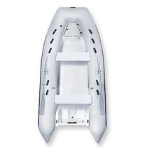 Outboard inflatable boat / semi-rigid