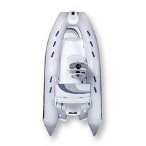 Side console inflatable boat / semi-rigid