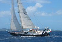 Cruising sailing yacht / deck saloon