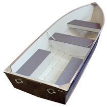 Outboard bay boat / sport-fishing / aluminum / 6-person max.
