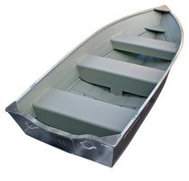 Outboard small boat / aluminum