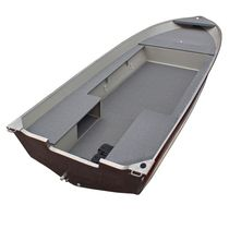 Outboard utility boat / aluminum / open boat