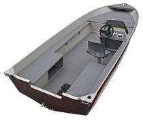 Outboard bay boat / side console / sport-fishing / aluminum