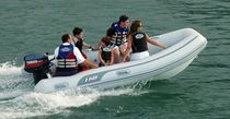 Outboard inflatable boat / semi-rigid / 7-person max.