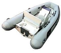 Outboard inflatable boat / semi-rigid / center console / 9-person max.