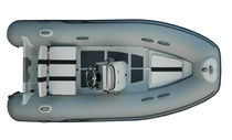 Semi-rigid inflatable boat / side console / 5-person max.