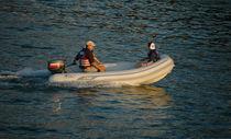 Outboard inflatable boat / semi-rigid / 6-person max.