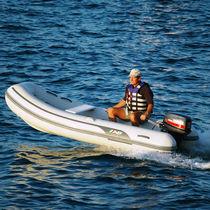 Outboard inflatable boat / semi-rigid / 10-person max.