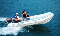 Outboard inflatable boat / semi-rigid / 9-person max.