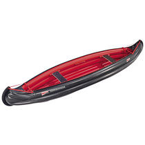 Multi-use canoe / inflatable / 3-seater / polyester