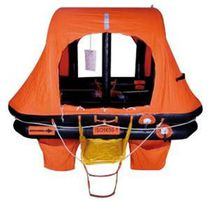 Boat liferaft / SOLAS / self-righting / inflatable