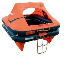 Boat liferaft / ISO 9650-1 / ISO 9650-2 / inflatable