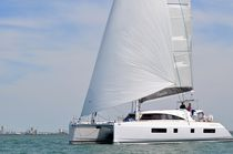 Catamaran / ocean cruising / flybridge / with 4 or 5 cabins