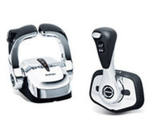 Engine control lever / digital / multi-lever / for boats