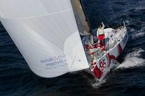 Ocean racing sailboat / open transom / class 4