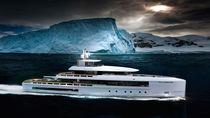 Cruising mega-yacht / wheelhouse / steel / 10-cabin